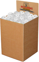 Jugs Bulldog White Poly Baseballs - Bulk Box Of 100 - $224.72