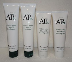 Two pack: Nu Skin Nuskin AP 24 Whitening & Anti-Plaque Fluoride Toothpaste x2 - $48.00
