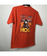 Rally In the Alley II Hog Indiana State Rally T-Shirt Size M Terre Haute 2005  - $19.52