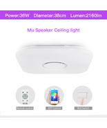 Modern LED Ceiling Light Remote Control Dimmable APP Control Living Room - $89.99