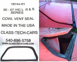 1950 - 1957 INTERNATIONAL IH COWL VENT SEAL - $43.51