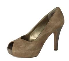 Nine West deaniem Ladies Classic Heel Shoes Leather Upper Open Toe Size ... - $14.15