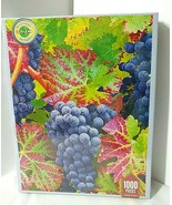Springbok ON THE VINE Grapes Leaves 1000 pc Puzzle NEW SEALED Delicious ... - $34.60