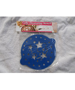 Cake Decorating Stencil Stars and Streamers NIP - $4.94