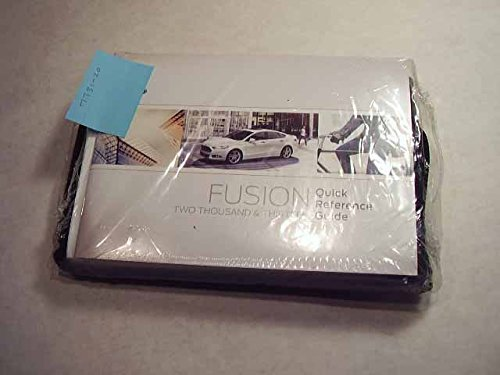 ford fusion hybrid energi owners manual paperback