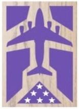 Air Force Boeing C-17 Globemaster Iii Award Wood Shadow Box Medal Display Case - $360.99