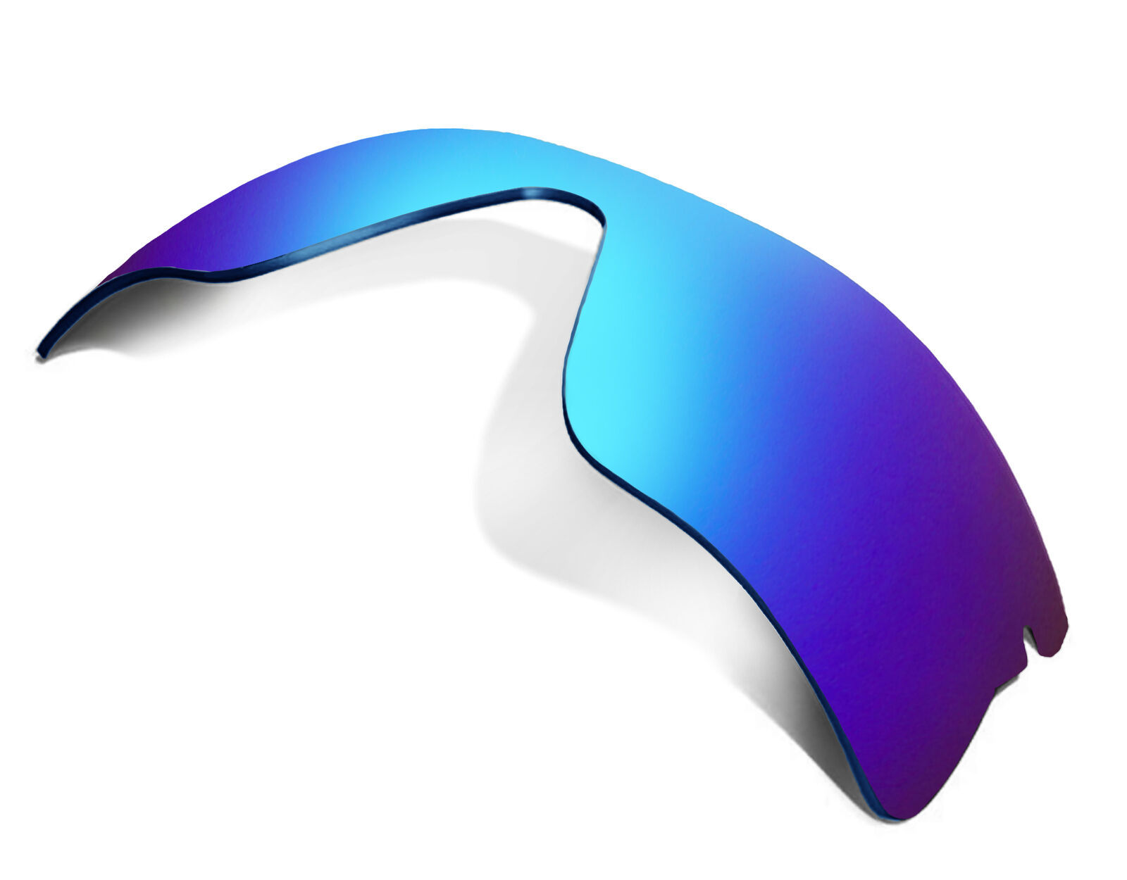 Primary image for Replacement Lenses for Oakley Radar Range Sunglasses Anti-Scratch Blue Mirror