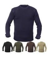 Crew Neck Acrylic Military Sweater Uniform Army Commando Thick Warm Winter - $37.99+