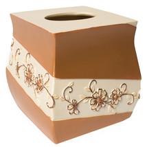 Popular Bath Veronica Bath Collection - Bathroom Tissue Box Cover - $29.96