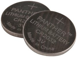 Panther Power 4 Pack Long Life Lithium CR2032 Coin Batteries - $6.97