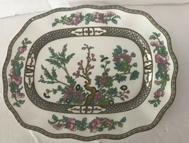 """COALPORT BONE CHINA INDIAN TREE pattern Serving Plate 12.5"""" By 10"""" - $75.00"""