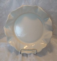 Poppytrail by Metlox Low Center Bowl, Ruffled Edge, Cream Colored, No. 736 - $15.00