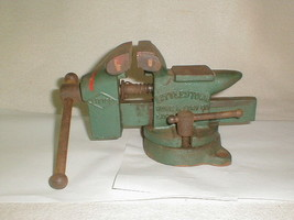 Vintage littletown bench vise No. 112 anvil swivel littco - $70.00