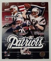 Tom Brady Adam Vinatieri Corey Dillon New England Patriots NFL Photo Fil... - $9.78