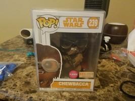 Funko Pop! Star Wars Flocked Chewbacca Solo Movie Box Lunch Exclusive Bo... - $15.00