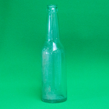 "Vintage (1920-1950s) Clear Glass 10"" Owens-Illinois Soda Bottle - $1.25"