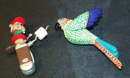 Hallmark Keepsake Ornaments Christmas Parrot & Clever Camper AA-191792D Collecti image 4