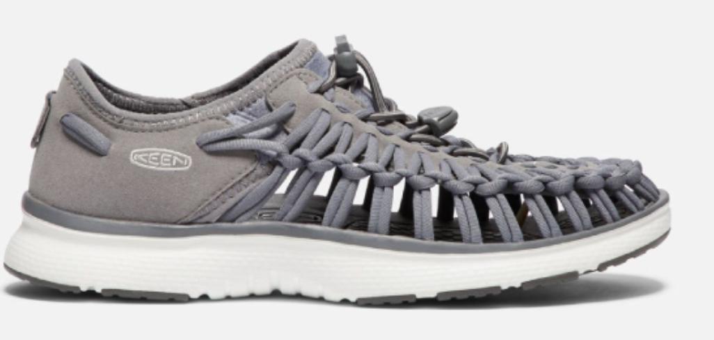 Keen Uneek o2 Sz 7 M (B) EU 37.5 Women's Sport Sandals Shoes Steel Grey / Vapor