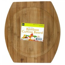 Rounded Bamboo Cutting Board OL516 - $38.40