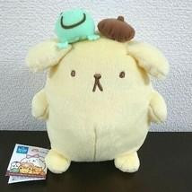 "Pom Pom Purin Plush Doll Mascot Stuffed Sanrio Japan Kawaii NWT FURYU Rare 8.0"" - $55.75"