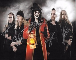 Avatar Band Group Signed Poster Photo 8X10 Rp Autographed All Members !! - $19.99