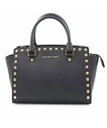 Michael Kors Selma 30T3GSMS2L-001 Studded Saffiano Ladies Purse - $209.00