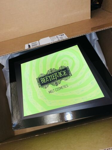Melt X Beetlejuice Empty PR Box 1 Day Air Option COLLECTOR's Item