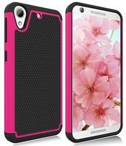 HTC Desire 626S Case, HTC Desire 626 Case, Zectoo Hybrid Shockproof Dual... - $11.69