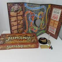 Vintage 1995 Jumanji Movie Board Game Milton Bradley 100% COMPLETE - $44.50