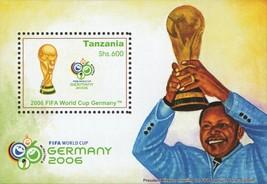 Tanzania Soccer Sport Souvenir Sheet Mint NH - $14.50