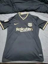 Barcelona Away Jersey size M Men nike dri-fit la liga patch embroidered ... - $46.74