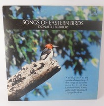 Songs Of Eastern Bird Songs Illustrated Booklet LP Record Donald Borror - £7.90 GBP