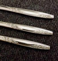 "Imperial Rosemere Lot of 3 Stainless Dinner Knives  8 5/8"" - $14.95"