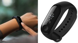Authentic Xiaomi Mi Band 3 0.78'' OLED Touch Screen Smart Bracelet Wristband NFC - $39.99