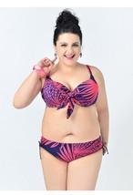 PLUS SIZE BIKINI 2pc Bathing suit women Swimming suits sexy swimwear XL 2X red - $39.99
