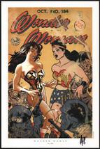 Adam Hughes SIGNED Women of DC Universe Portfolio Art Print ~ Wonder Woman #184 - £39.14 GBP