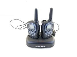 Midland LXT560 Walkie Talkies Free Ship X-tra Talk 2 two way radio const... - $27.76