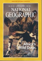 National Geographic Magazine - May 1999 - Africa's Wild Dogs - $4.00