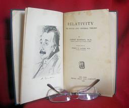 Albert Einstein RELATIVITY THE SPECIAL AND GENERAL THEORIES -1920 FIRST ... - $563.50