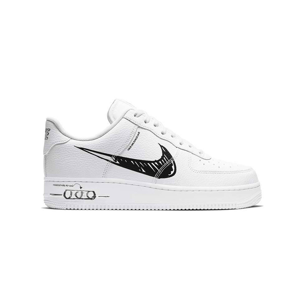 Primary image for Nike Air Force 1 Low LV8 Utility (Sketch White/ Black) Men 8-13