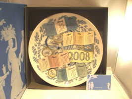 Wedgwood Plate 2008 Calendar The Elements Air Collection Blue - $30.31