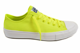 Converse Unisex CT All Stars II 150160C Sneakers Volt Green Size US 3 RRP $83 - $39.00