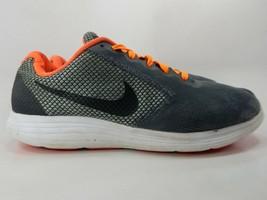 Nike Revolution 3 Taglia US 10.5 M (D) Eu 44.5 Uomo Scarpe da Corsa Grigio - $34.25
