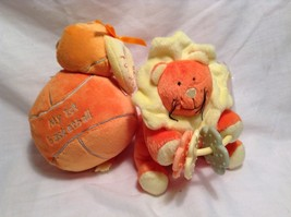 NEW Stephan Baby Rattle Ball and Lion Toy Set - $39.99