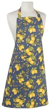 Now Designs Basic Cotton Kitchen Chef's Apron, Provencal Lemon Print - $21.53