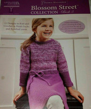 Leisure Arts Blossom Street Collection 3 11 Knit/Crochet Design Patterns... - $14.67