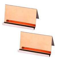 Kisslife Stainless Steel Business Cards Holders Desktop Card Display Bus... - $15.22