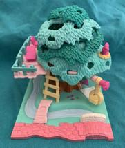 Vintage 1994 Polly Pocket Tree House Treehouse No Dolls - Bluebird - $29.69