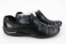 $620 Prada Mens Driving Shoes Sneakers Black Lace Up Casual Designer 10.5 - $64.39