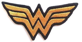 Wonder Woman Patches Embroidered Iron On Bag Jeans Jacket Fancy Badge Ap... - $3.44+